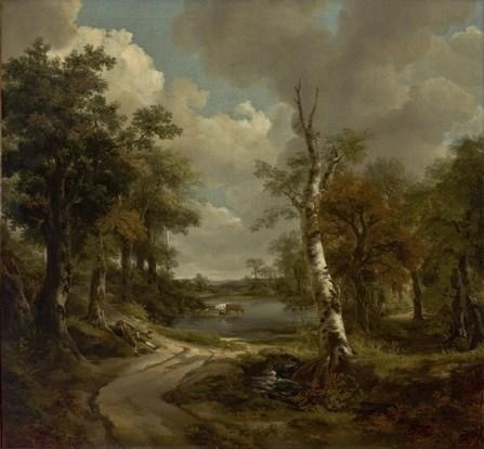Drinkstone Park by Thomas Gainsborough