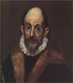 Portrait of an Old Man (Presumed Self-Portrait) by El Greco