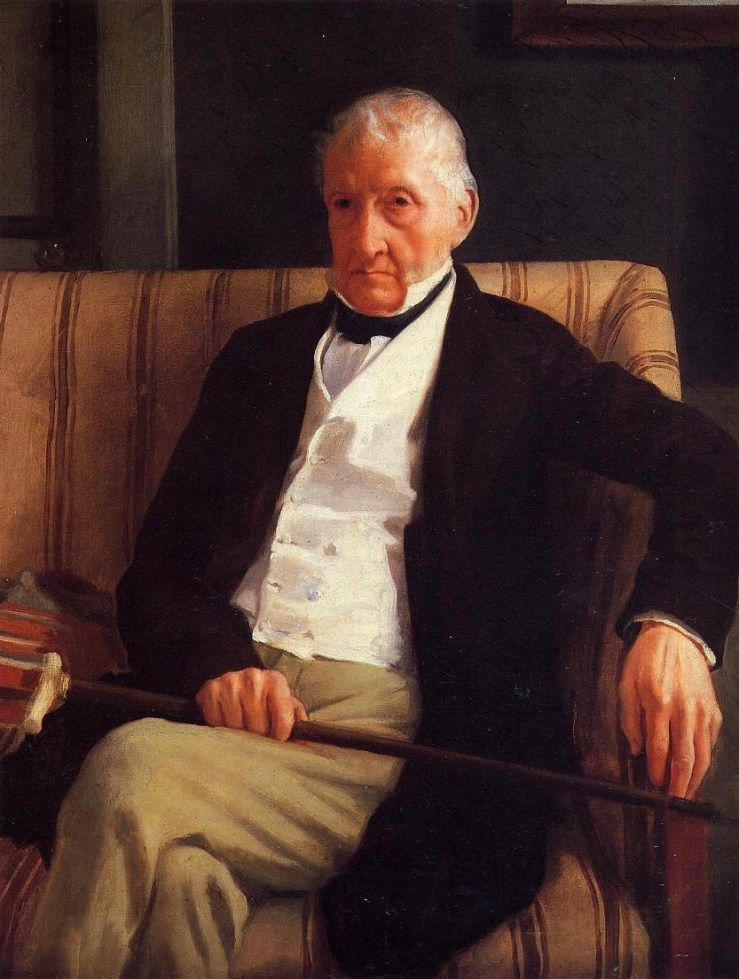 Portrait of Rene Hillaire Degas (the Artist's Father) by Edgar Degas