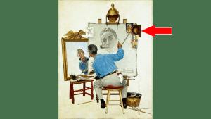 Triple Self-Portrait
