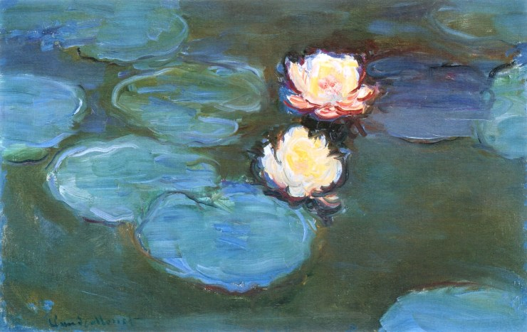 Water Lilies 1899 by Claude Monet
