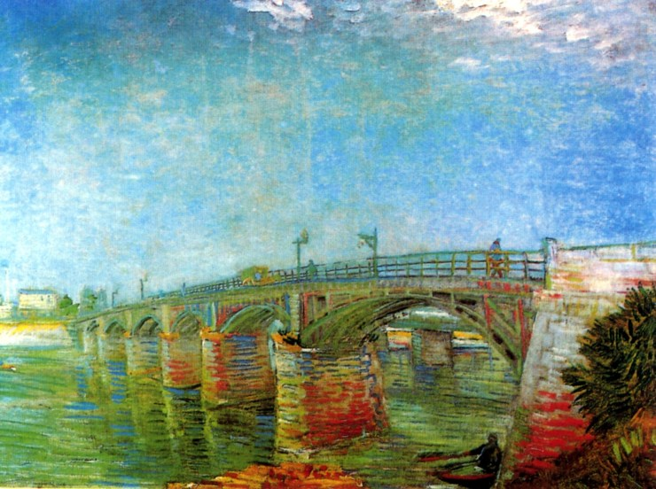 The Seine Bridge at Asnieres by Vincent van Gogh
