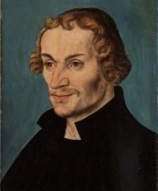 Painting of Philip Melanchthon
