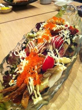 Soft-shelled Crab Salad; Hakkaisan