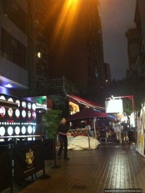 Brief view of Knutsford Terrace