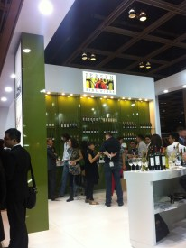 At Jebsen booth; Rest&Bar Expo
