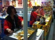 Japanese dumplings; Rest&Bar Expo