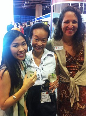With Nellie and Alison Christ of Amorosso; Rest&Bar Expo