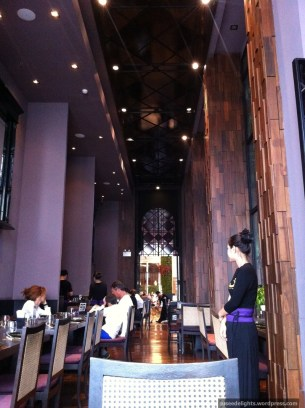 Interior; Nara Thai Cuisine, CentralWorld, Bangkok