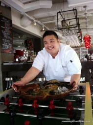 Head Chef Anthony Yeoh at a fun dining environment; Cocotte