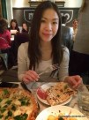 Me eating; Motorino