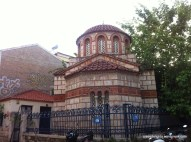 A neighboring old church; Nikitas, Athens, Greece