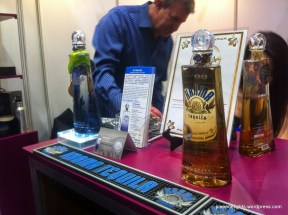 Tasting at Karma Tequila booth; HKIWSF2014