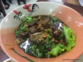 Stewed Beef Noodles; Ruathong Noodles, Bangkok