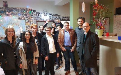 Jusos Mayen-Koblenz besuchen das Jugendhaus