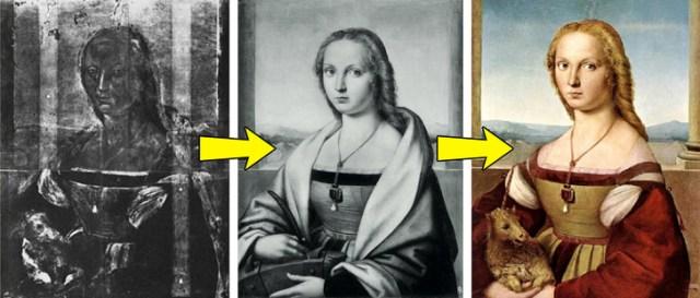 5 известных картин, которые скрывают ещё одно изображение под слоем краски