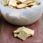Easy Homemade Whole Grain Crackers (Soaked)