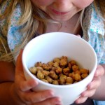 Sweet n' Crunchy Roasted Chickpeas (4 Flavor Varieties!)