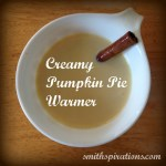 Creamy Pumpkin Pie Warmer (naturally-sweetened & dairy-free option)