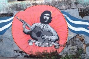 Che Guevara mit Gitarre