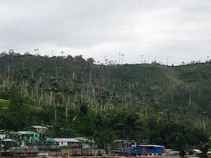 Hurrikanschaden Baracoa