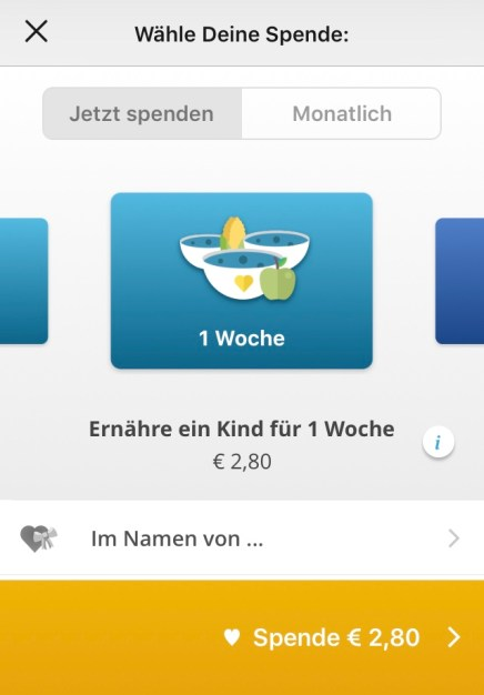 share the meal Blogger helfen