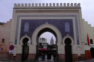 Fes Bab Jeloud Blaue Tor Marokko