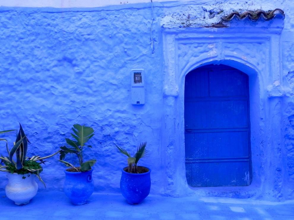 Chefchaouen Marokko das blaue Dorf