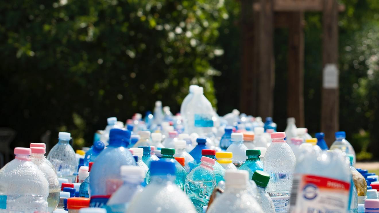 Plastikflaschen Müll vermeiden