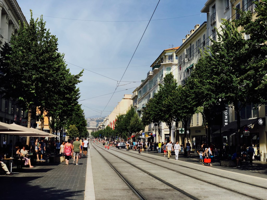 Avenue Malaussena Nizza