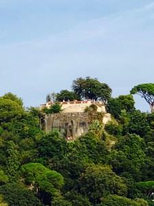 Aussicht vom Park de la Collins du Chateau