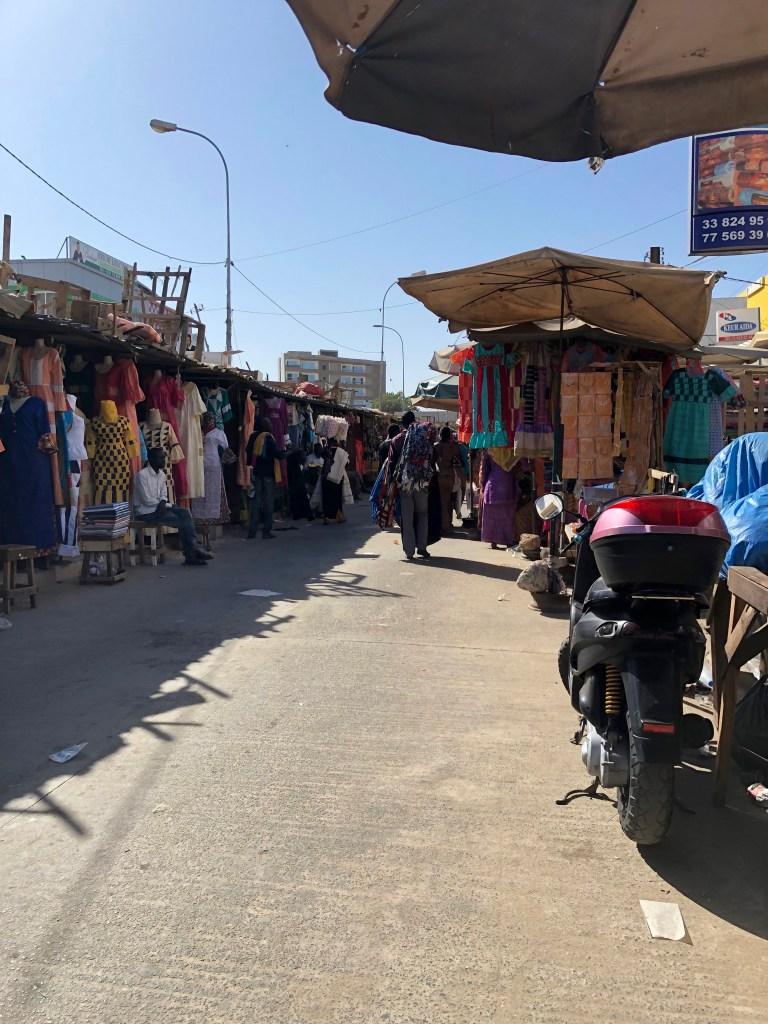 HLM Market Dakar Senegal