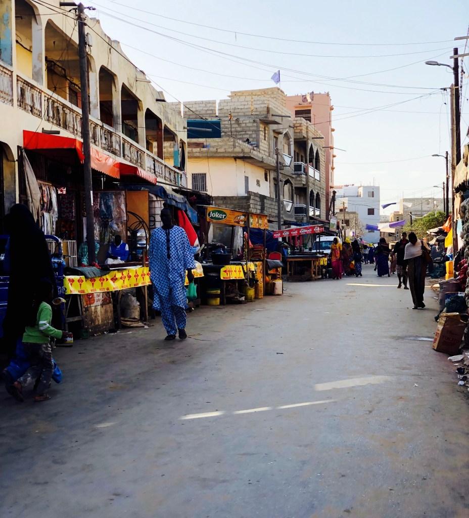 Markt Yoff Dakar Senegal