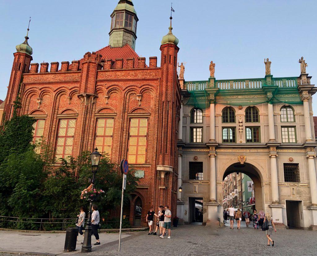 Danzig Altstadt Eingang
