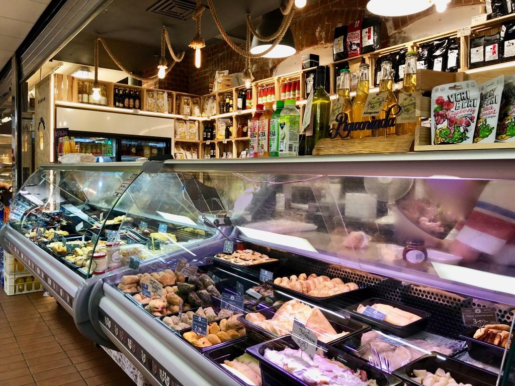 Danzig Markt Hala Targowa Speisen