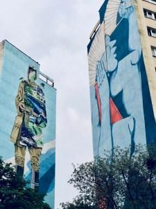 Danzig Zaspa Mural Soldat