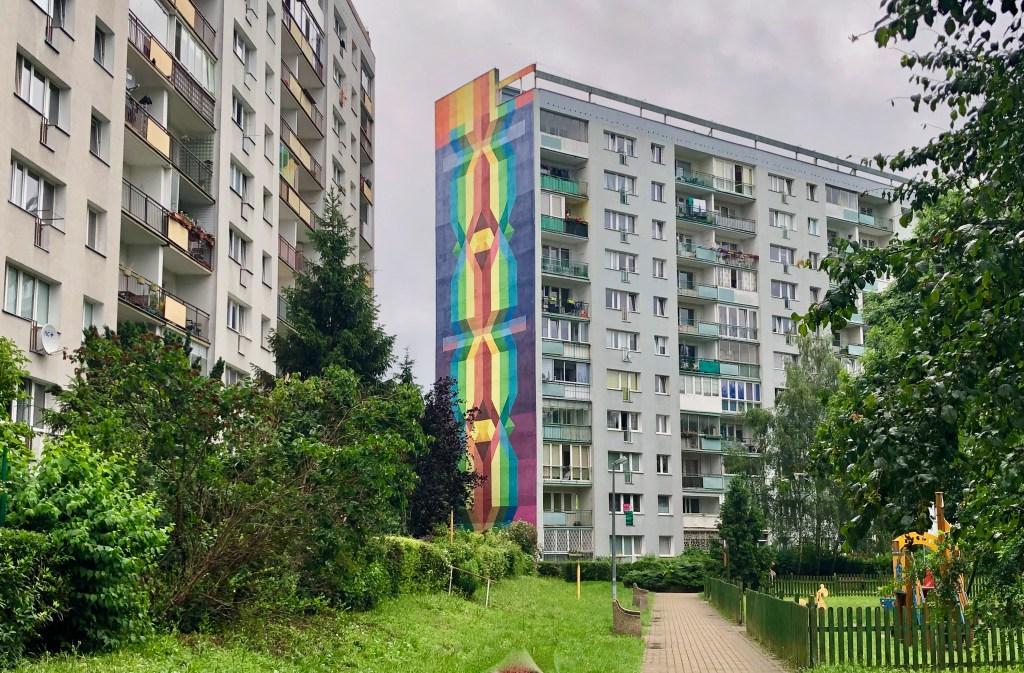 Danzig Zaspa Mural Block