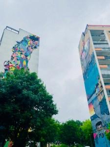 Danzig Zaspa Murals