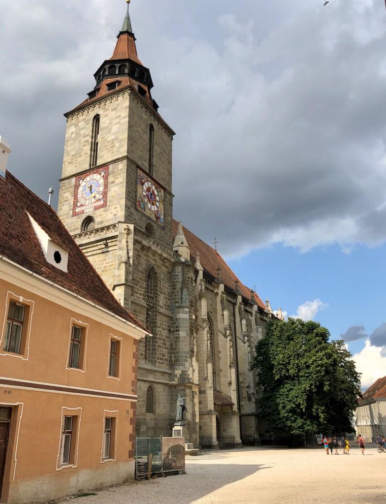 Schwarze Kirche in Brasov Rumänien