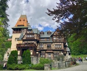 Schloss Pelisor in Sinaia Rumänien