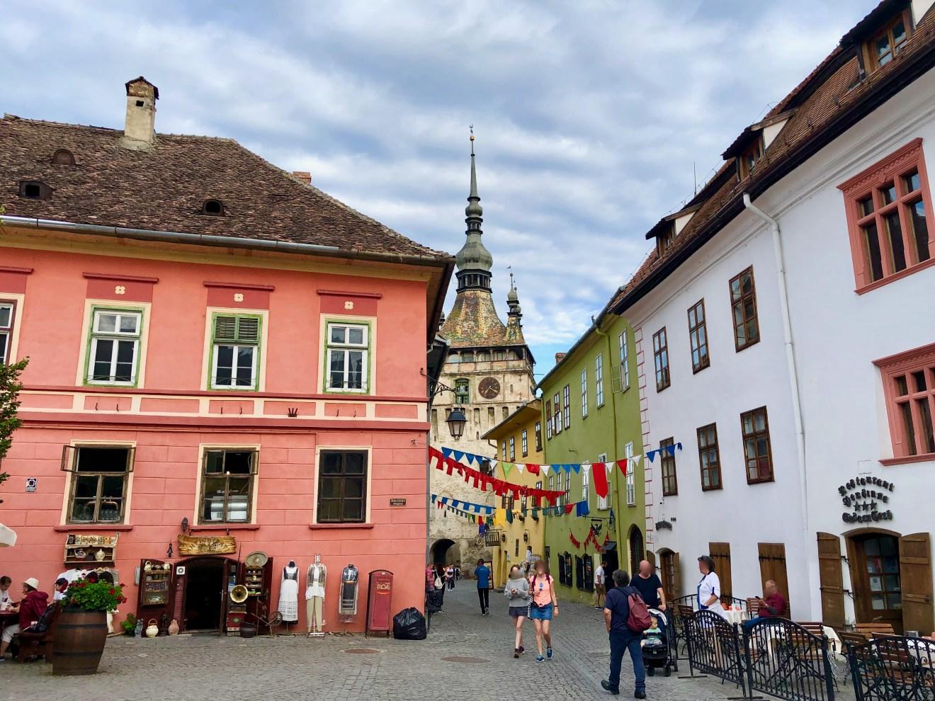 Altstadt Sighesoara Rumänien