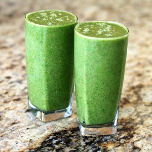Fitness Rezepte: Abnehmen & Anti-Aging mit grünen Smoothies: grüner Smoothie 2