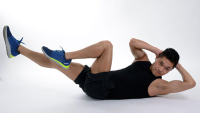 Schnell am Bauch abnehmen kannst du mit Sport und Bewegung