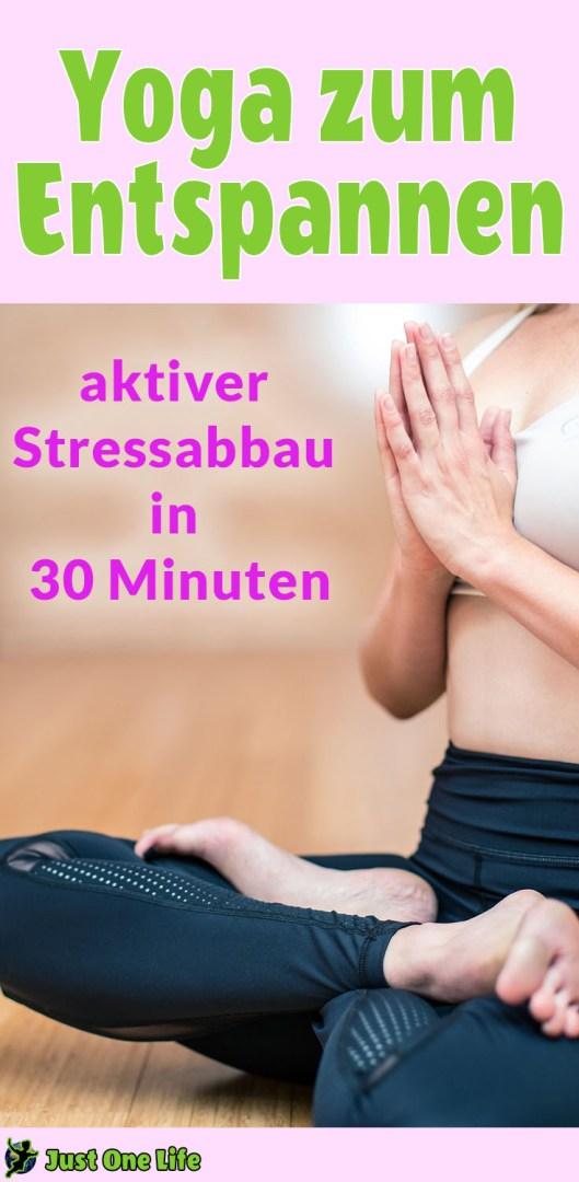 Yoga zum Entspannen - Yoga Übungen zum aktiven Stressabbau