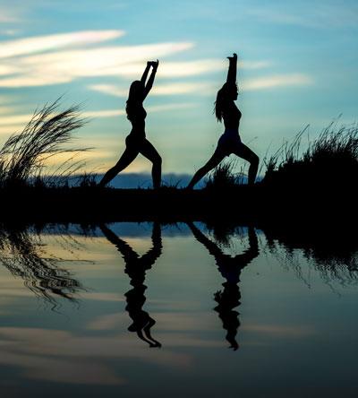 Stoffwechsel anregen mit Entspannung - Yoga