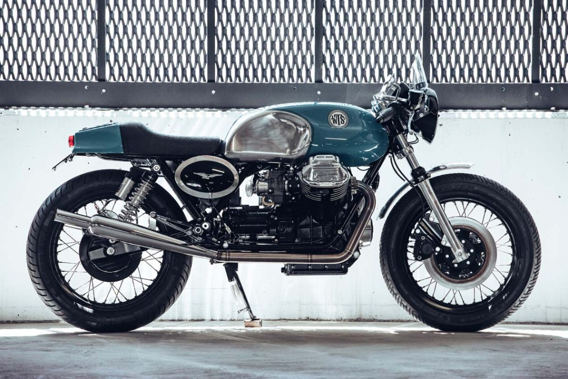 FEATURE - 1975 Moto Guzzi 850 T3 custom