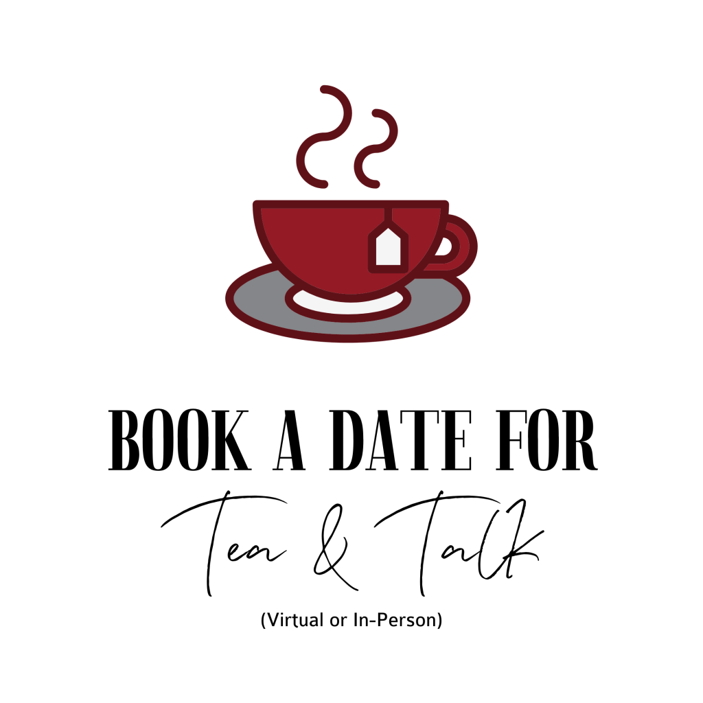 Button - Book A Date For Tea & Talk (Virtual or In-Person)