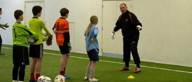 Ray Newland the Founder of Just4Keepers was impressed by the enthusiasm of all the keepers and with the professionalism and overall standards Paul and his team of coaches displayed.