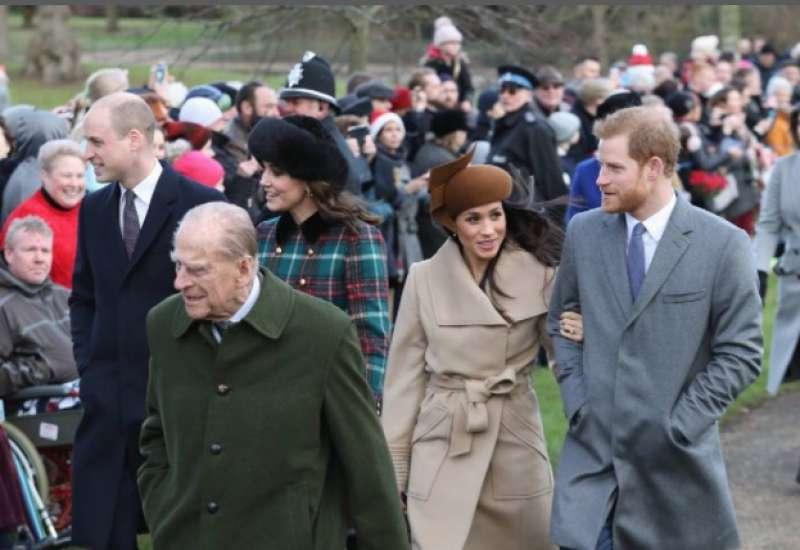 La famiglia reale britannica ha accettato Meghan Markle?