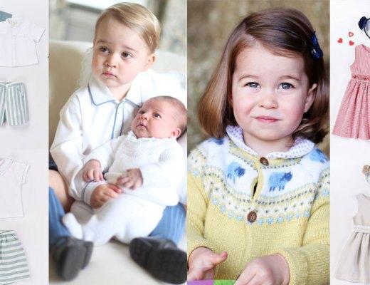 baby george princess charlotte vestire bambini stile baby royal